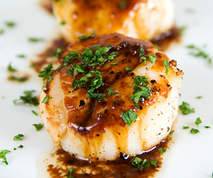 how to cook scallops in a fry pan